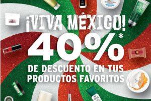 The Body Shop 40% de descuento en toda la tienda del 14 al 17 de septiembre