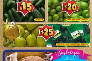 Bodega Aurrera: frutas y verduras tiánguis de mamá lucha 13 al 19 de octubre 2017