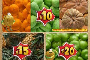 Bodega Aurrera frutas y verduras tiánguis de mamá lucha 20 al 26 de octubre