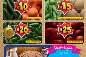 Bodega Aurrera: frutas y verduras tiánguis de mamá lucha 27 de octubre al 2 de noviembre