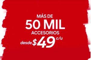 C&A más de 50 mil accesorios a $49 pesos por mitad de temporada