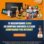 Chedraui: $300 de descuento en compras mínimas de $1,000 por Internet