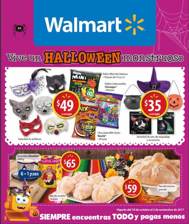 Folleto Walmart Del 18 De Octubre Al 2 De Noviembre 2017