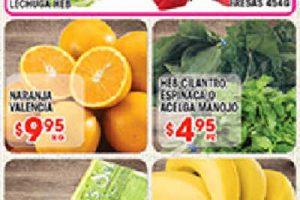 Frutas y verduras HEB del 31 de octubre al 6 de noviembre 2017