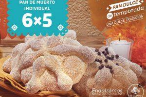 El Globo 6×5 en pan de muerto individual