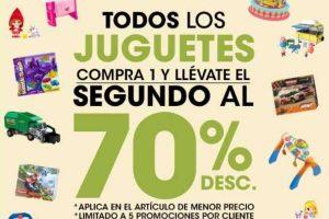 HEB 70% de Descuento en todos los Juguetes