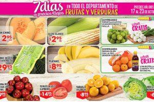 HEB: folleto frutas y verduras del 17 al 23 de octubre 2017