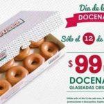 Krispy Kreme: docena de donas glaseadas a $99 el 12 de octubre