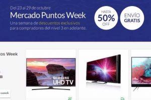 Mercado Puntos Week Mercado Libre del 23 al 29 de octubre 2017