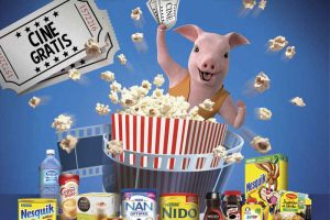 Promoción Nestlé y Chonchito Gana 2 boletos Gratis