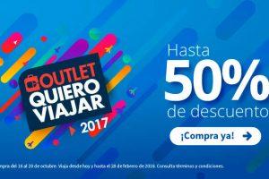 Outlet Quiero Viajar Interjet 2017 hasta 50% de descuento