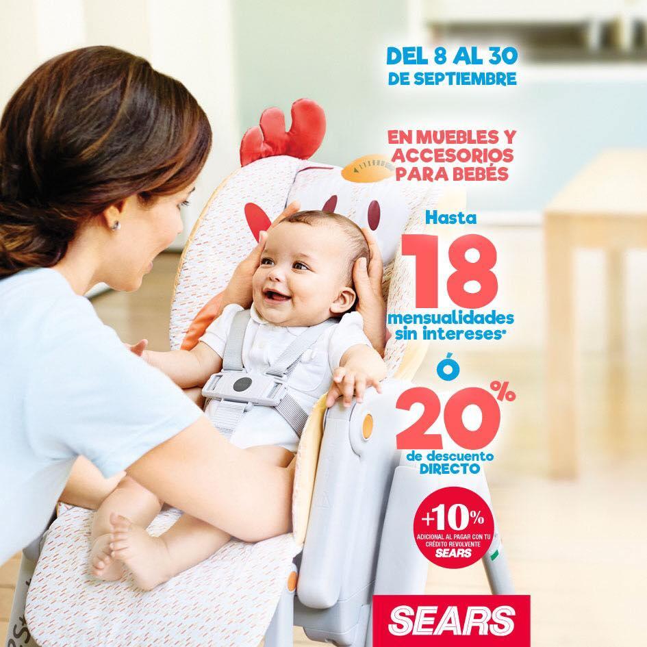 589a5dbeb Sears  quincena de la maternidad y bébes del 5 al 23 de octubre 2017
