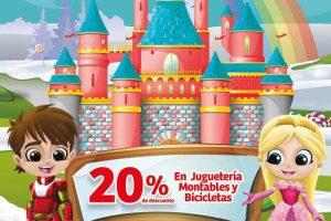 Soriana: 20% de descuento en Juguetería, Montables y Bicicletas