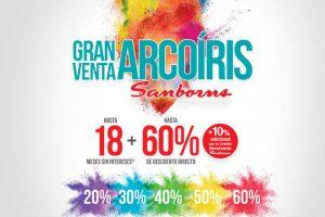 Venta Arcoíris Sanborns del 6 al 16 de octubre 2017