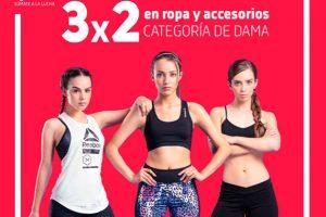 Venta Especial Dportenis 3×2 en ropa y accesorios para dama
