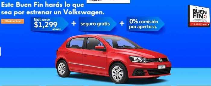 Promociones El Buen Fin 2017 Volkswagen