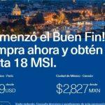 Ofertas El Buen Fin 2017 en Aeroméxico