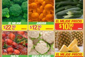 Bodega Aurerra: frutas y verduras tiánguis de mamá lucha 10 al 16 de noviembre