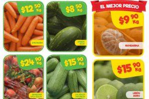 Bodega Aurrerá: Frutas y Verduras Tianguis de Mamá Lucha 17 al 23 de Noviembre 2017