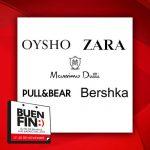 El Buen Fin 2017 en Bershka, Zara, Pull & Bear, Oysho y Grupo Inditex