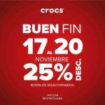 Ofertas del Buen Fin 2017 en Crocs