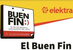 El Buen Fin 2017 Elektra: 10% de descuento adicional con tarjetas