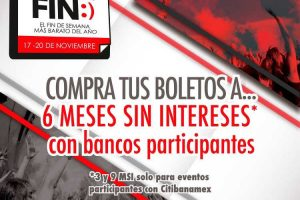 Ofertas El Buen fin 2017 Ticketmaster