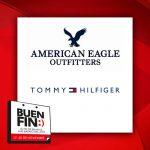 El Buen Fin 2017 en Tommy Hilfiger, American Eagle, Studio F, Aldo Conti y más