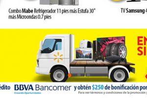 Buen Fin 2017 Walmart: $250 de descuento directo con tarjetas Bancomer
