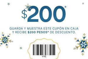 C&A: Cupón $200 pesos de Regalo en compras mínimas de $1200