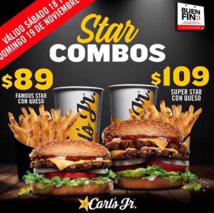 Promociones El Buen Fin 2017en Carl's Jr