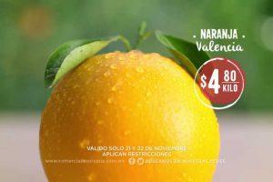 Comercial Mexicana frutas y verduras del campo 21 y 22 de noviembre 2017