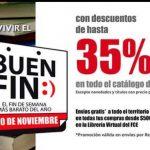 Ofertas El Buen Fin 2017 en Fondo de Cultura Económica