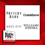 El Buen Fin 2017 en Pottery Barn, Crate & Barrel, West Elm y Williams Sonoma