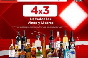 Sam's Club Ofertas El Buen Fin 2017 4×3 en todos los vinos y licores