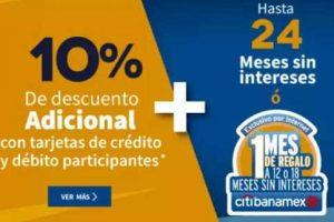 Elektra - 10% de descuento con tarjetas Citibanamex y Banco Azteca