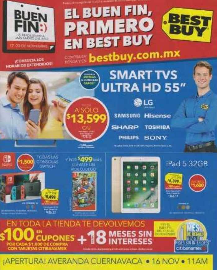 Folleto de Ofertas Buen Fin Best Buy 2017