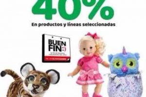 Promociones del Buen Fin 2017 en Juguetrón