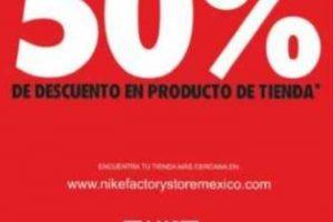 Ofertas El Buen Fin 2017 en Nike Factory Store