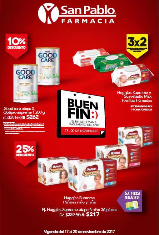 Ofertas El Buen Fin 2017 Farmacias San Pablo
