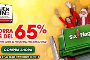 Ofertas El Buen Fin 2017 Six Flags México