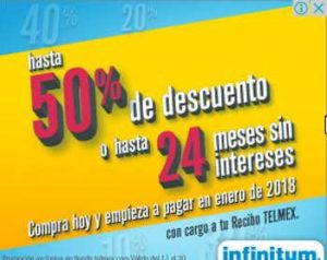Ofertas El Buen Fin 2017 Telmex