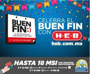 Folleto de Ofertas El Buen Fin 2017 HEB Online