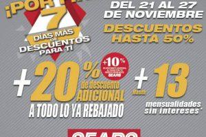 Sears - Buen Fin extendido 7 Días más de descuentos