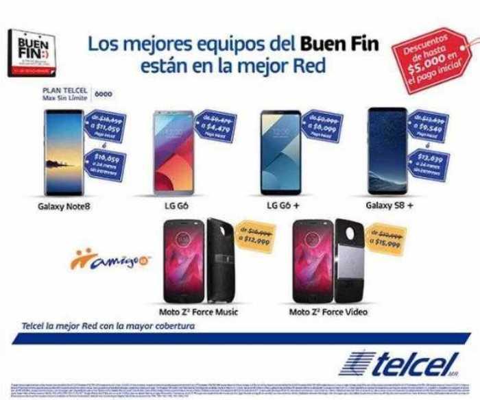 Folleto de promociones El Buen Fin 2017 Telcel