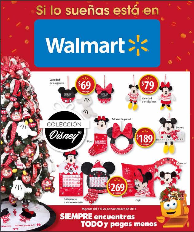 Walmart folleto de ofertas de navidad del 3 al 20 de for Adornos de navidad walmart 2017