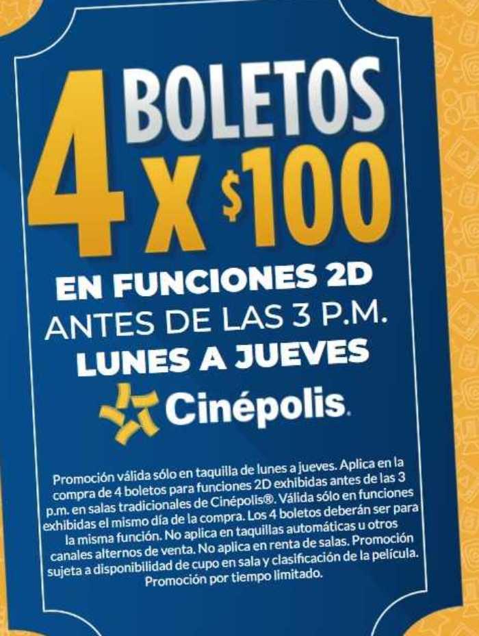 Cinepolis coupon 2018