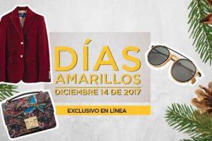 Ofertas Días Amarillos El Palacio de Hierro 14 de Diciembre 2017