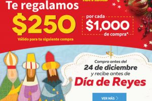 Elektra: $250 de regalo por cada $1,000 de compra en tienda online