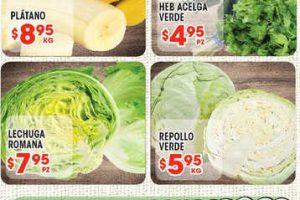 Frutas y Verduras HEB del 5 al 11 de Diciembre 2017